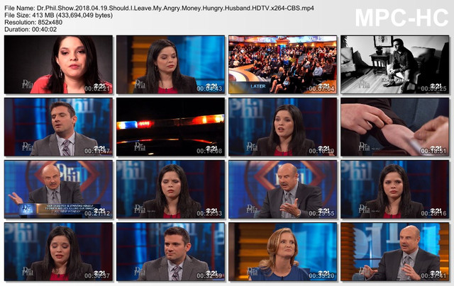 Dr Phil Show 2018 04 19 Should I Leave My Angry Money Hungry Husband HDTV x264-CBS mp4