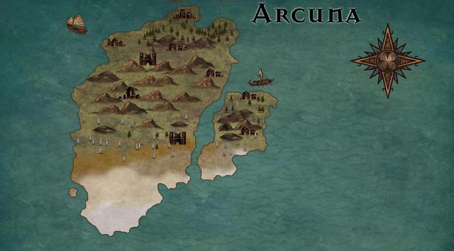 arcuna geo map