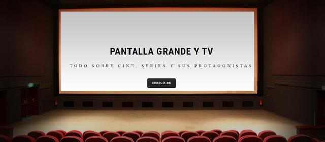 Pantalla Grande y TV