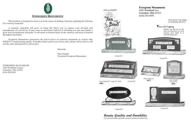 Evergreen_Headstone_Brochure_Page_1