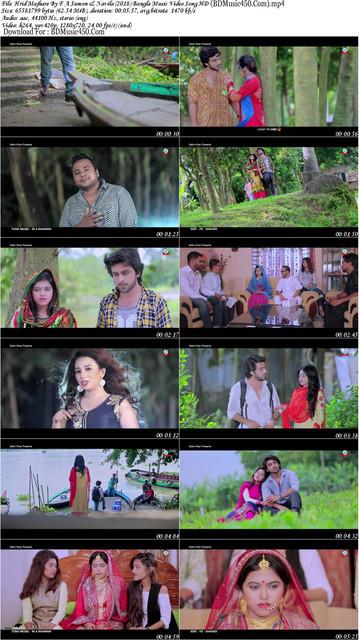 Hrid Majhare 2018 New Bangla Music Video By F A Sumon & Navila HD