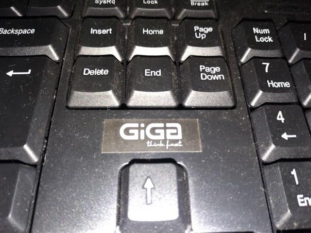 Teclado Honda GIGA