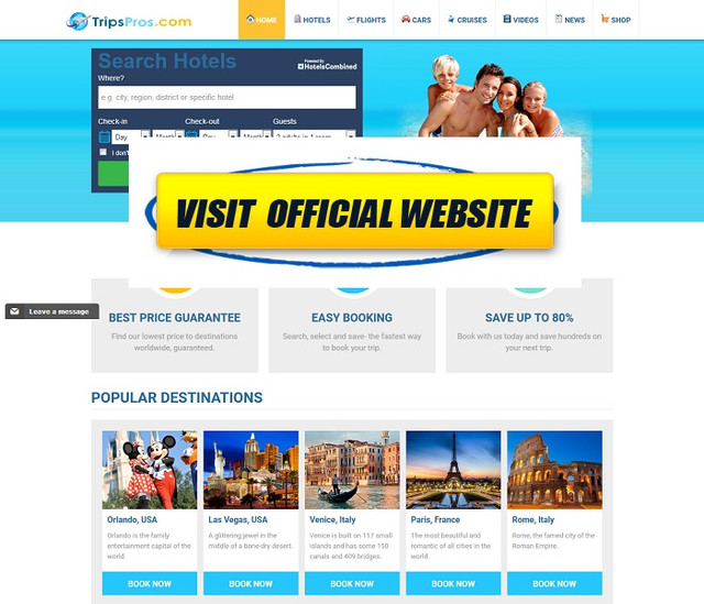 Trips pros Book Your Dream Vacation Today