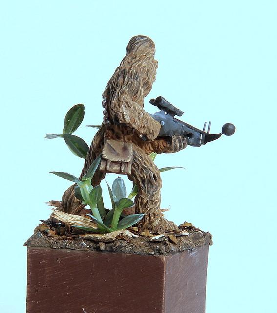 Grrrrooaaarr (Chewbacca 28mm) IMG-3347