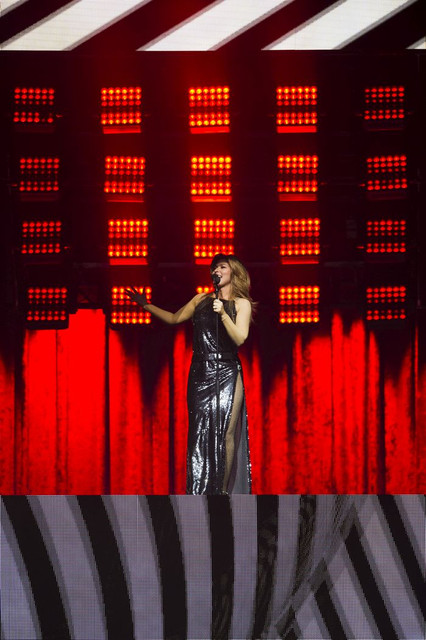 VANCOUVER May 05 2018 Shania Twain performs in concert at Rogers arena as part of the Shania Twain N