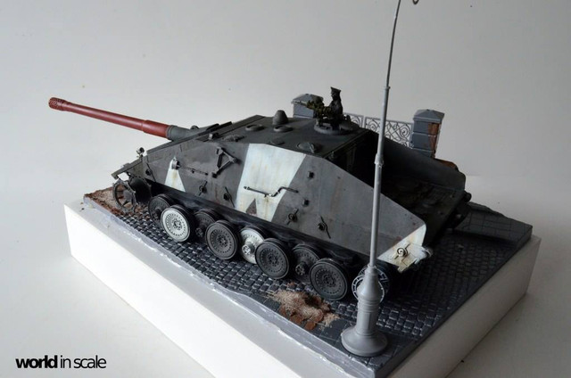 Jagdpanzer E-100 - 1/35 of Trumpeter 29432257_1011987098968805_6118814545382211584_o