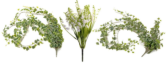 lily of the valley and ivy corsage creations large scale wedding venue dressing florist advice