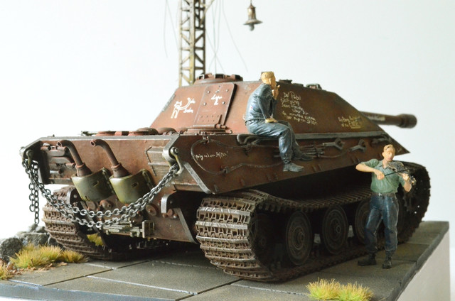 Jagdpanzer E-75 - 1:35 v. Trumpeter, Bolddivision DSC_2796