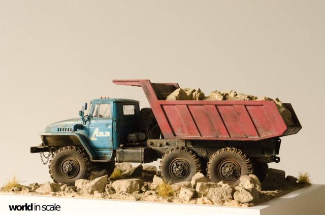 "Ural-4320 ""Dumper Truck"" - 1/35 by Trumpeter, Balaton Modell 25542703_960247530809429_5083552115154455968_o"