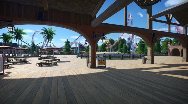 Elysium park Resort Restaurant view