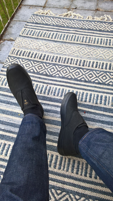 huf dylans black/black leather