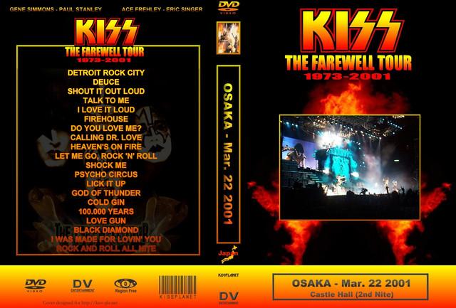 KISS - 2001-03-21 ~ Osaka, Japan Rozy Edition - Guitars101 - Guitar