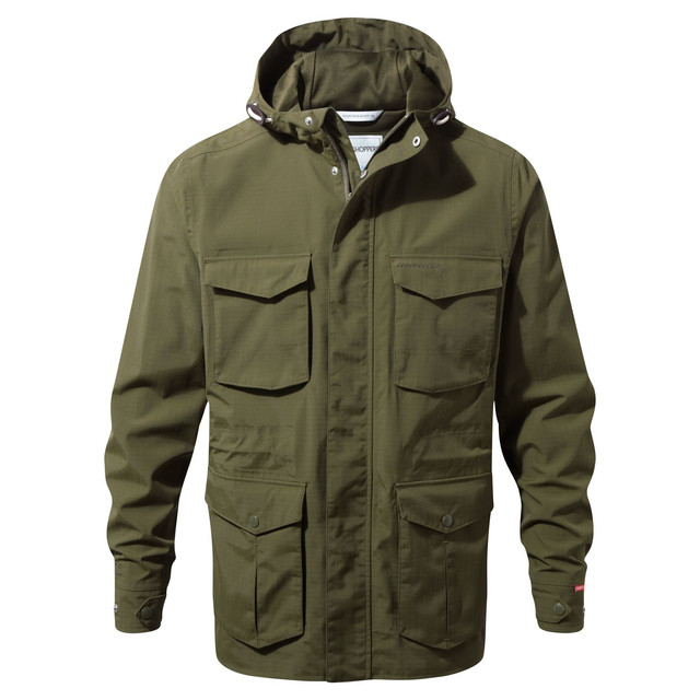 Craghoppers NosiLife Forrester Womens Waterproof Jacket Green
