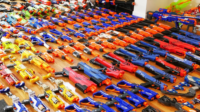 AirballingLA provides the best Nerf Guns for our Nerf Gun Party
