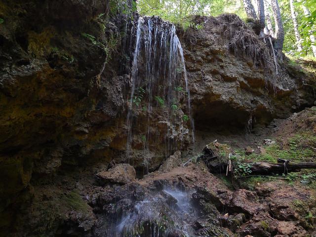 vodopad serebrjanyj kaskad