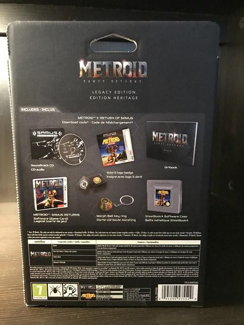 [VENDU] Metroid Samus Return 3DS collector IMG_2663