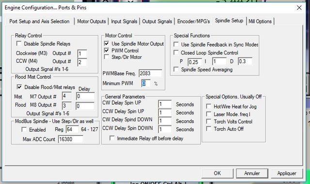 Carte NVEM +  variateur Huanyang 3