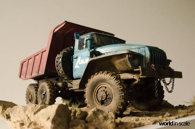 "Ural-4320 ""Dumper Truck"" - 1/35 by Trumpeter, Balaton Modell 25587908_960247490809433_3519869248723203315_o"