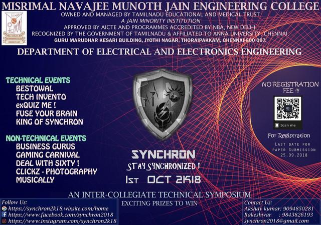 SYNNCHRON Poster