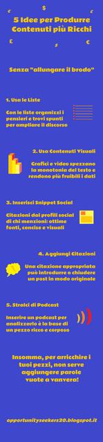 5 Modi Per Scrivere Contenuti più Ricchi