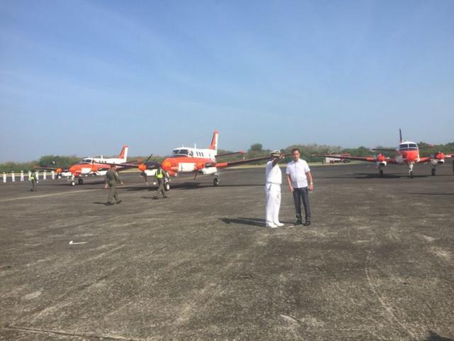 Fuerzas Armadas de Filipinas - Armada - Fuerzas Especiales- Fuerza Aerea - Ejercito - notas, equipos, inversiones y noticias Phllipines_TP90_trainer_plane_from_Japan