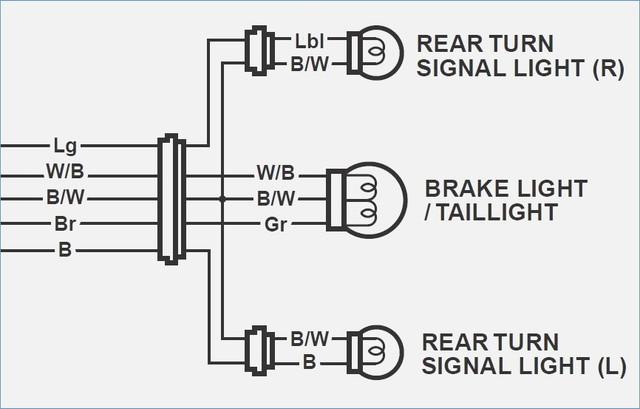 emergency light bar wiring diagram rewire tail light & blinkers - star motorcycle forums ... #9