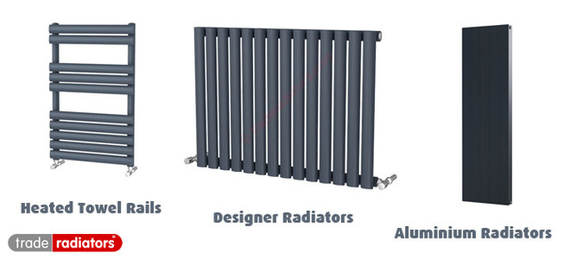 Trade Radiators Anthracite Radiator Range