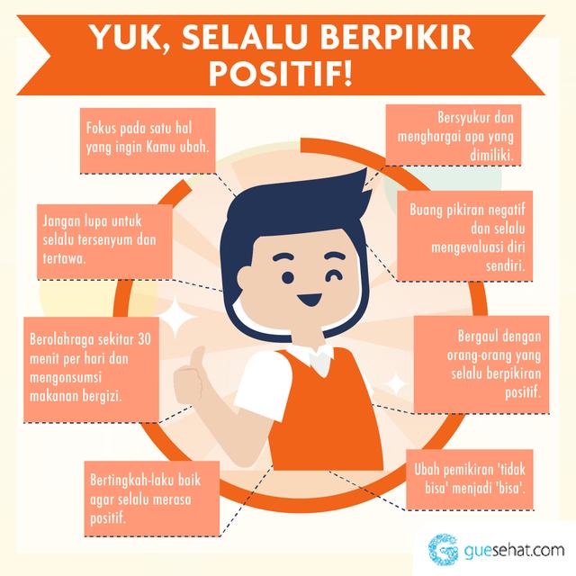 Manfaat Berpikir Positif -GueSehat.com