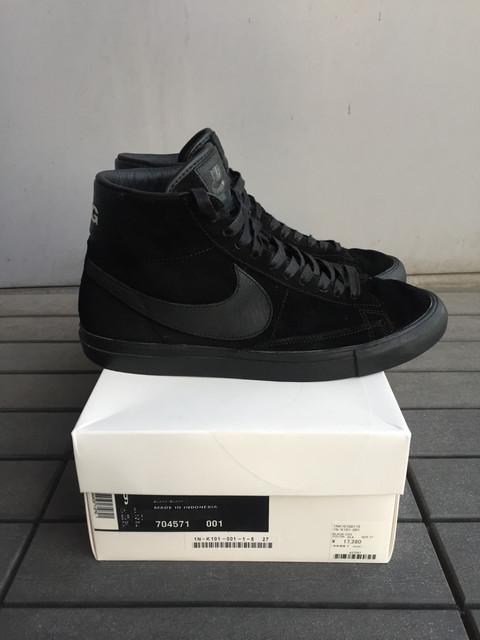 best service 142d8 07cc3 SOLD  BLACK COMME des GARÇONS x Nike Blazer High SP (Size 9) for ...