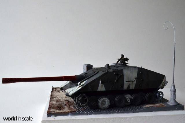 Jagdpanzer E-100 - 1/35 of Trumpeter 29366499_1011987088968806_4376106027154669568_o