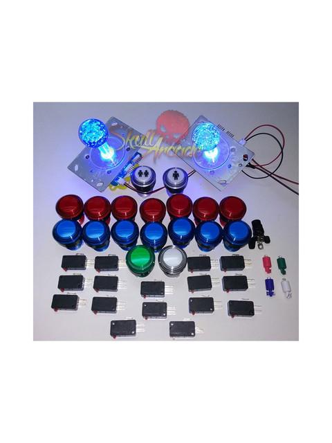 Proyecto bartop arcade rapsberry pi3 19 2 jugadores for Conectar botones arcade a raspberry pi 3