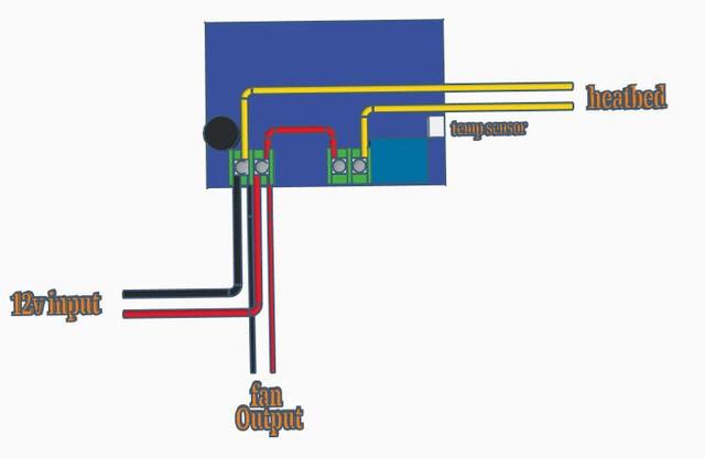 filament dryer wiring