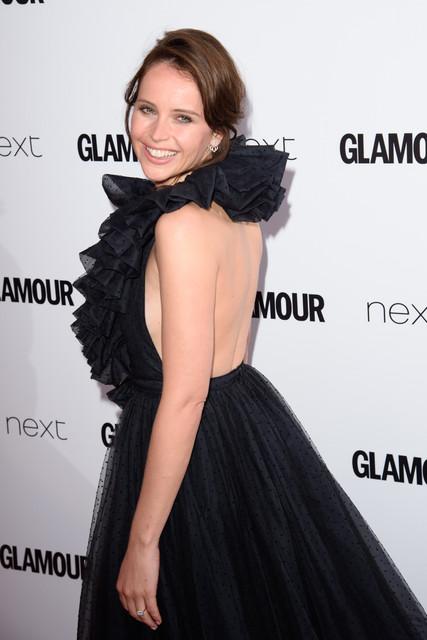 Felicity Jonesat the Glamour Women of the Year Awards 2017 Berkeley Square London GLAMOUR WOMEN OF T