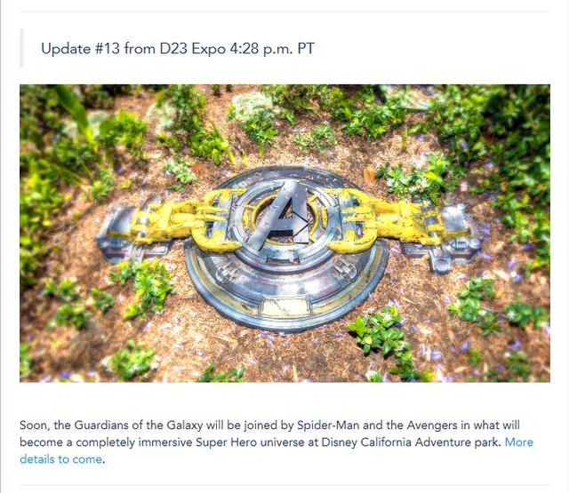 [Disney California Adventure] Nouvelle zone Marvel (2020) W789
