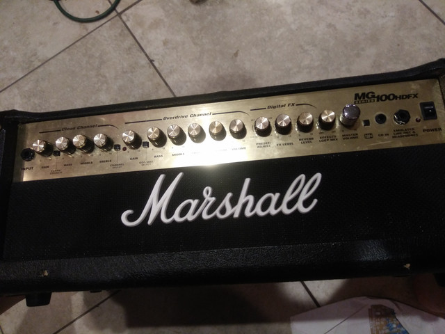 for my next project... Marshall MG100hdfx head | GuitarNutz 2Guitar Nuts 2 - ProBoards