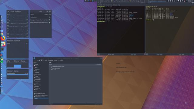 Kubuntu Arty / KDE Plasma 5.11