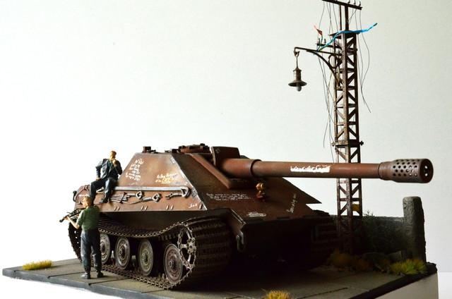 Jagdpanzer E-75 - 1:35 v. Trumpeter, Bolddivision DSC_2786
