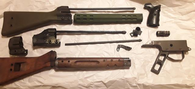 Wts Cetme G3 HK91 PTR parts lot - AR15 COM