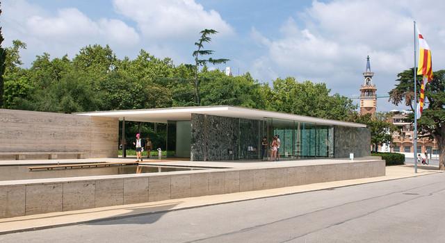 Barcelona Pavillon August 2014