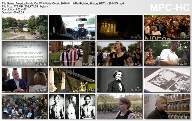 America Inside Out With Katie Couric 2018 04 11-Re-Righting History HDTV x264-NG mp4