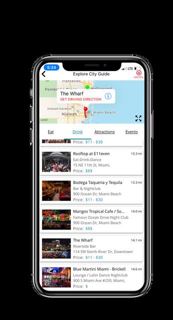Surprise Travel App
