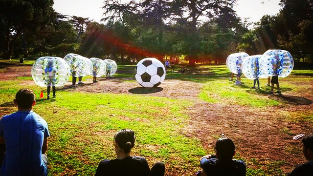 Bubble Soccer from AirballingLA