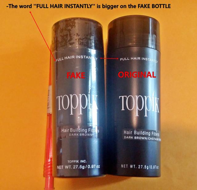 fake vs original toppik 2