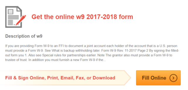 how_to_fill_w9_form_online