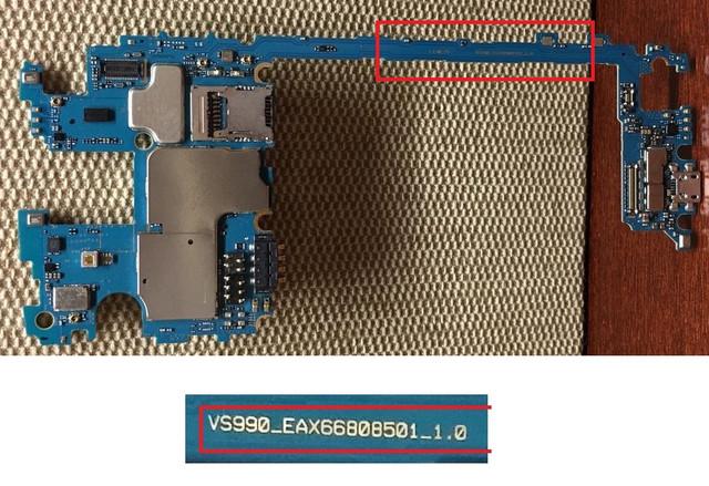 مشكل في هاتف lg v10