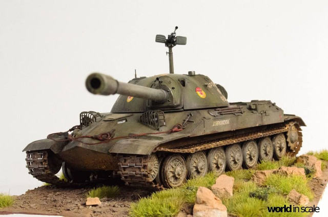 IS-7 (Object 260) Heavy Tank - 1:35 of Trumpeter 28070494_996436820523833_5581669813144893289_o