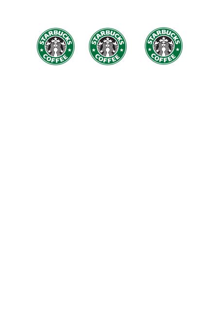 Starbucks logo. Meer info op www.dressesanddaisies.be!
