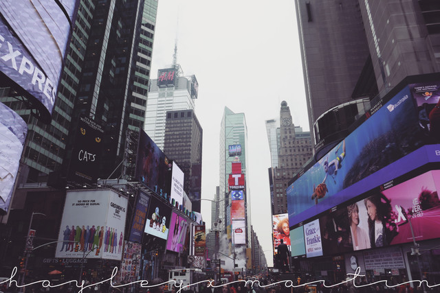 Instagram: hayleyxmartin | Times Square, New York