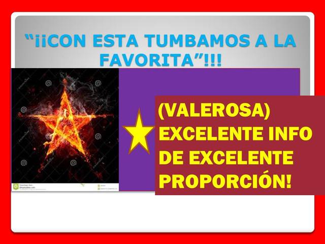 ¡MÁXIMA EFECTIVIDAD!, ¡SÚPER DATOS HÍPICOS!, ¡¡SÚPER INSTINTO HÍPICO ASESINO!! VALEROSA_1