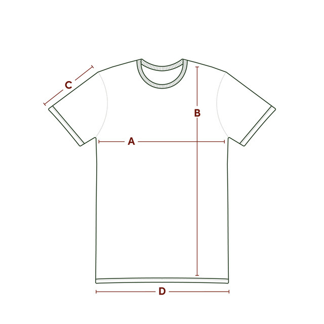 P-P-Size-Diagram-SS-T-shirt